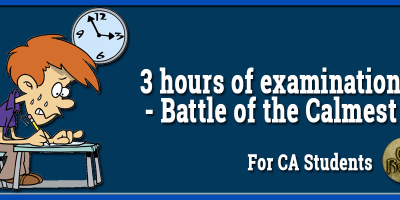 3 hours of examination- Battle of the Calmest-min