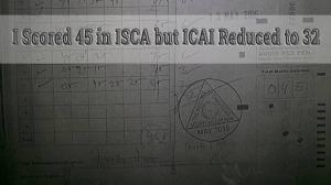 ICAI Slashes the Marks – Right or Wrong ?