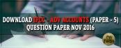 Download IPCC Advance Accounts Question paper Nov 2016