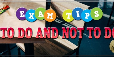 ICAI Exam Tips - before exams