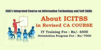 Registration of ICITSS