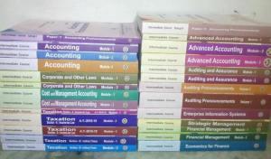 CA Intermediate Books
